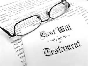 Last Will & Testament